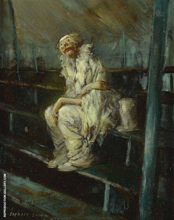 The Dlown Painting By Everett Shinn - Reproduction Gallery