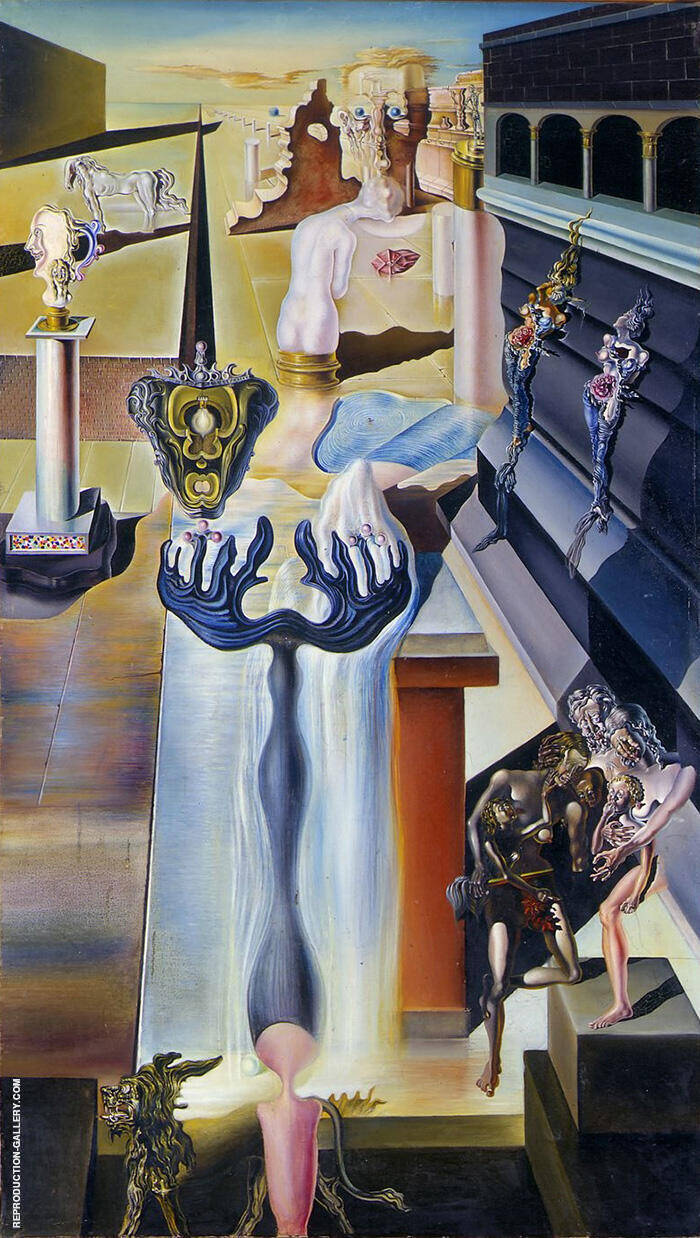 The Invisible Man 1929 By Salvador Dali