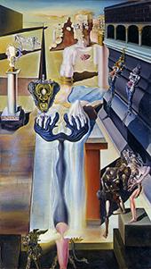 The Invisible Man 1929 By Salvador Dali