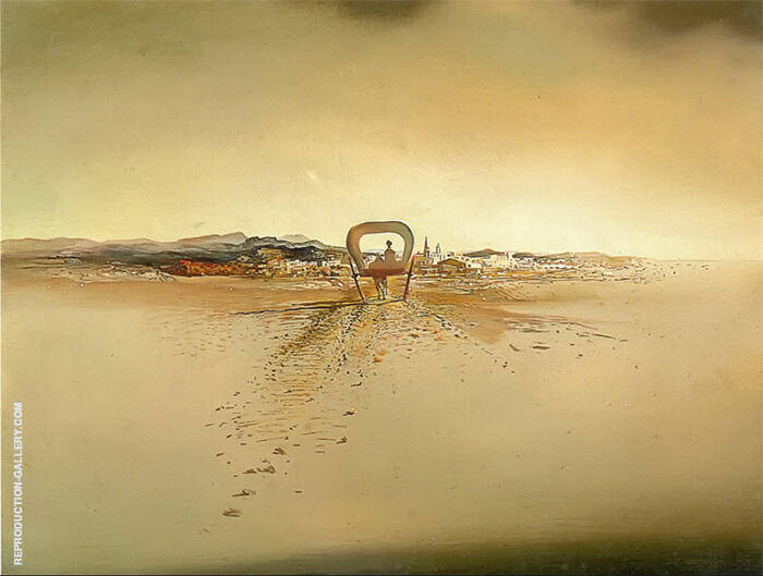 Fantom Cart 1933 By Salvador Dali