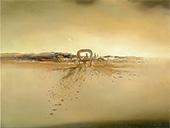 Fantom Cart 1933 By Salvador Dali