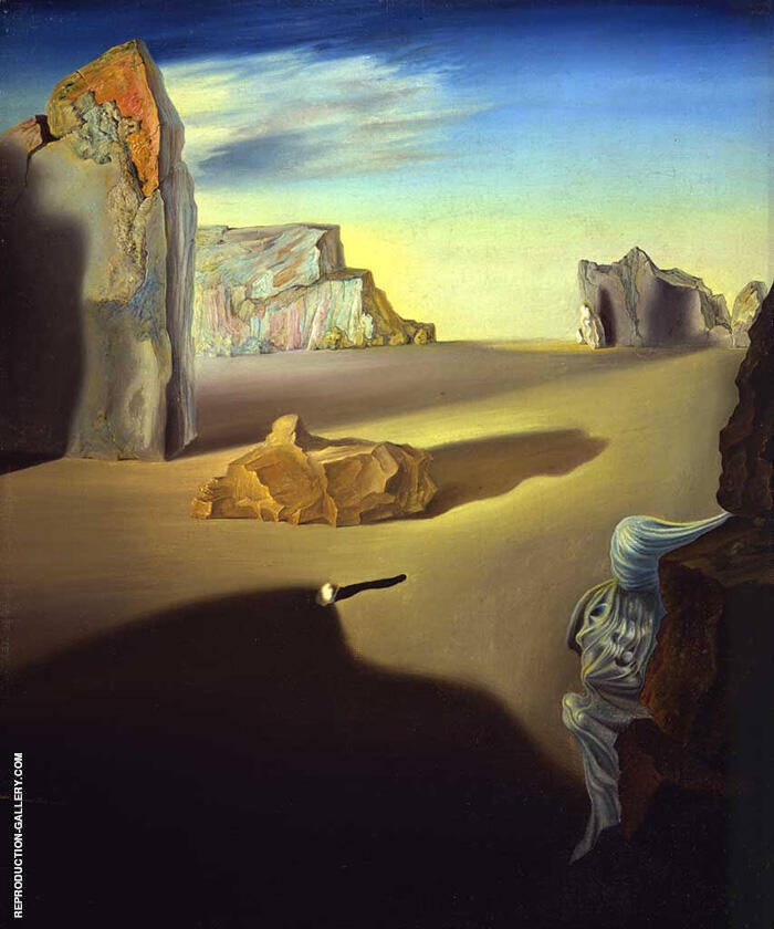Shades of Night Descending 1931 By Salvador Dali