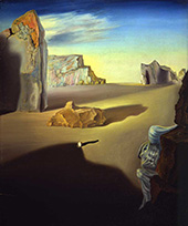 Shades of Night Descending 1931 By Salvador Dali