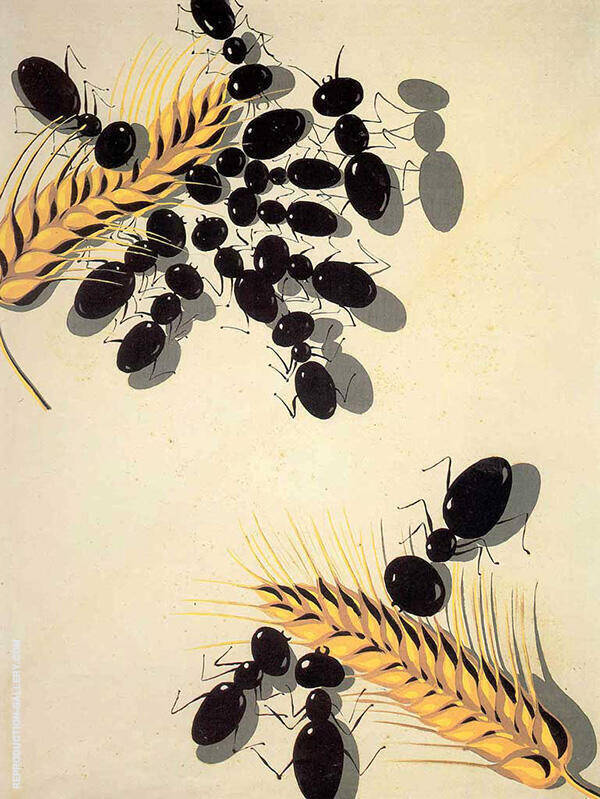 Les Fourmis By Salvador Dali