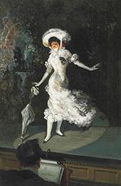 The Stage Singer 1902 By Everett Shinn