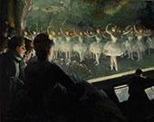 The White Ballet 1904 By Everett Shinn