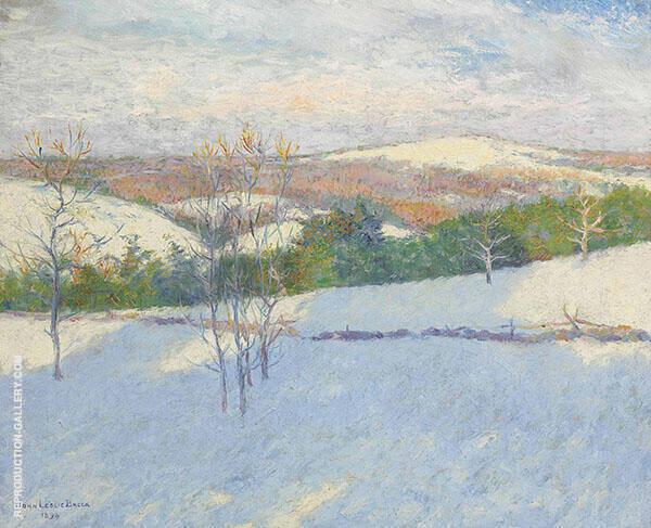 Early Snow By John Leslie Breck