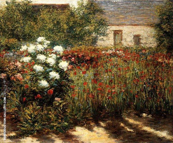 Garden at Giverney 1890 By John Leslie Breck