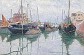 Giudecca Canal Venice 1897 By John Leslie Breck