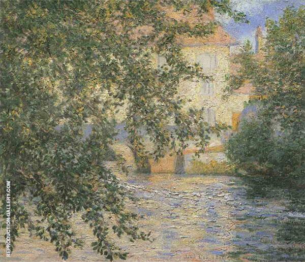Mill Stream Limetz By John Leslie Breck