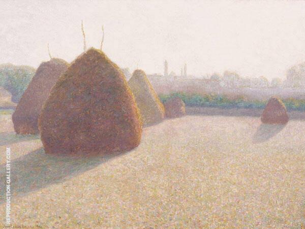 Morning Fog and Sun 1892 By John Leslie Breck