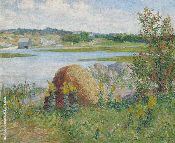 On The Essex River 1891 By John Leslie Breck