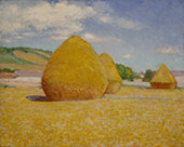 Studies of an Autumn Day By John Leslie Breck