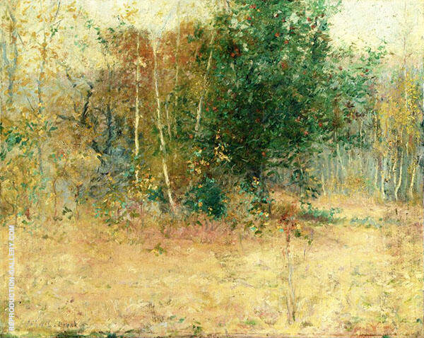 Study for Indian Summer 1892 By John Leslie Breck