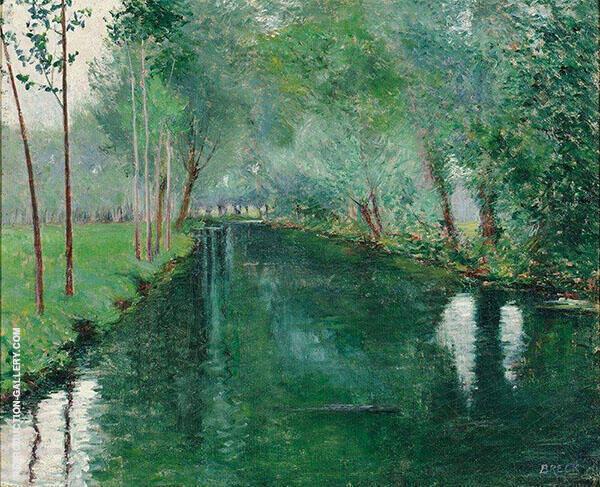The River Etpte c1887 By John Leslie Breck