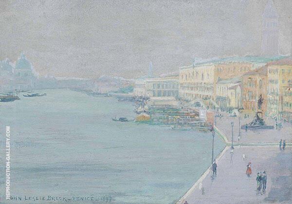 Venice 1897 By John Leslie Breck