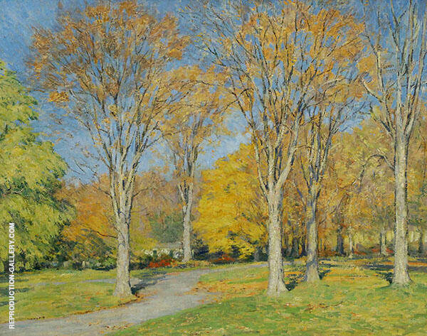 Arrive at Sunny Ridge Painting By Clark Voorhees - Reproduction Gallery