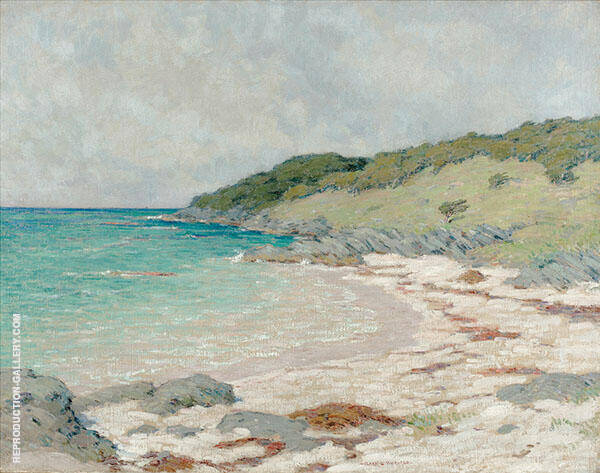 Church Bay Painting By Clark Voorhees - Reproduction Gallery