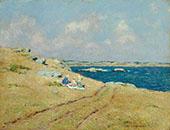 Cliff Walk Newport Rhode Island By Clark Voorhees