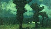 Moonlight Bermuda 1919 By Clark Voorhees