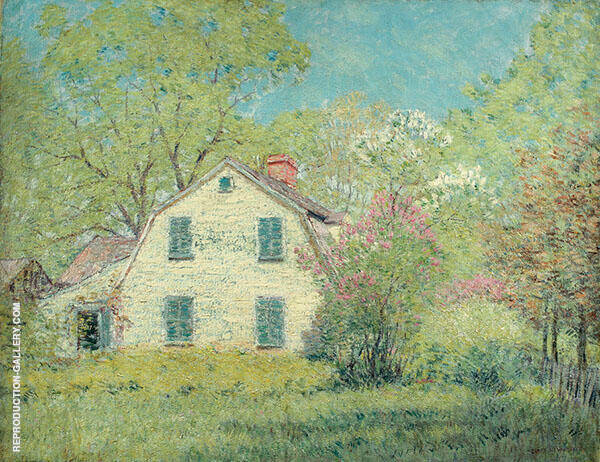 White House Painting By Clark Voorhees - Reproduction Gallery