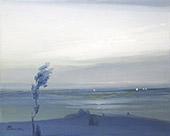 Across The Hudson 1905 By Leon Dabo