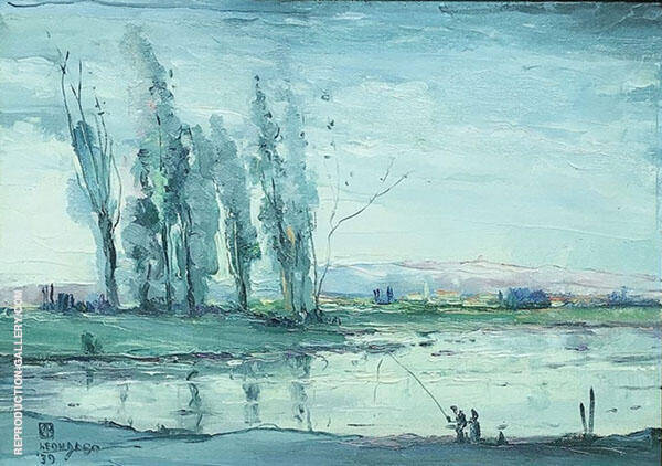 Le Vesle 1938 By Leon Dabo
