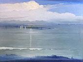 The Harbor c1907 By Leon Dabo