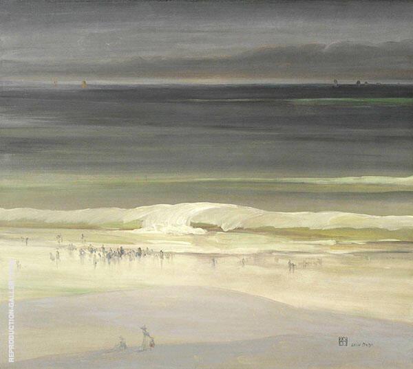 The Seashore 1900 By Leon Dabo