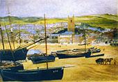 Net Day at St Ives By John Brett