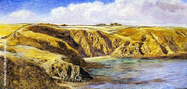Parn Voose Cove By John Brett