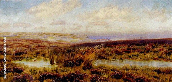 Sketch of Fylingdales Moor By John Brett