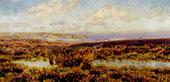 Sketch of Fylingdales Moor By John Brett