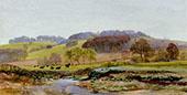 Springtime Near Morden By John Brett