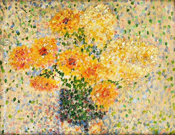 Floral Still Life By Georges Lemmen
