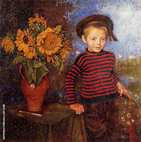Little Pierre II Painting By Georges Lemmen - Reproduction Gallery