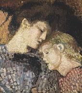 Madame Georges Lemmen et Lise By Georges Lemmen