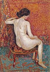 Nude c1910 By Georges Lemmen