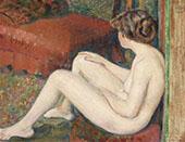 Nude Study 1895 By Georges Lemmen