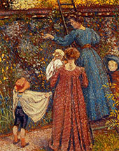 Picking Fruit 1906 By Georges Lemmen