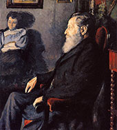 The Artists Father 1887 By Georges Lemmen