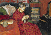The Knitter By Georges Lemmen