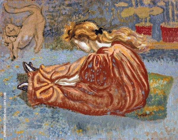 The Little Shoes Painting By Georges Lemmen - Reproduction Gallery