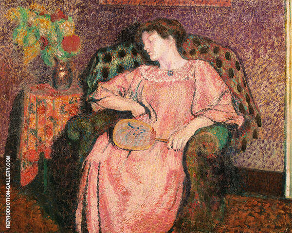The Siesta Painting By Georges Lemmen - Reproduction Gallery