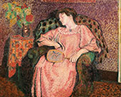 The Siesta By Georges Lemmen