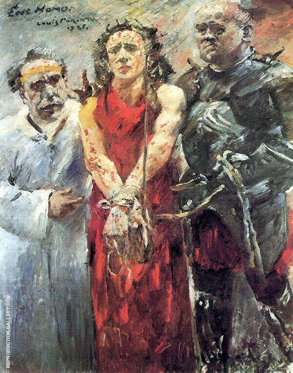 Ecce Homo Painting By Lovis Corinth - Reproduction Gallery
