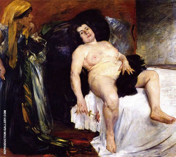 Bathsheba By Lovis Corinth