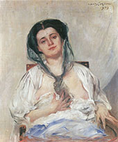 Donna Gravida 1909 By Lovis Corinth