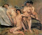 Group of Women 1904 By Lovis Corinth