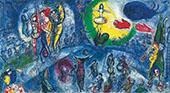 Le Grand Cirque 1956 By Marc Chagall